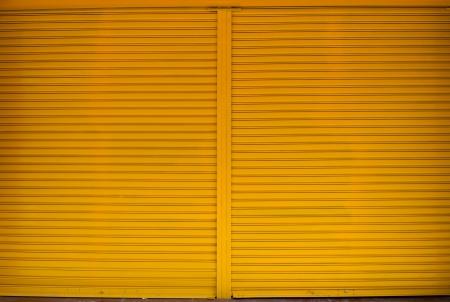 Texture of metal door surface.  photo