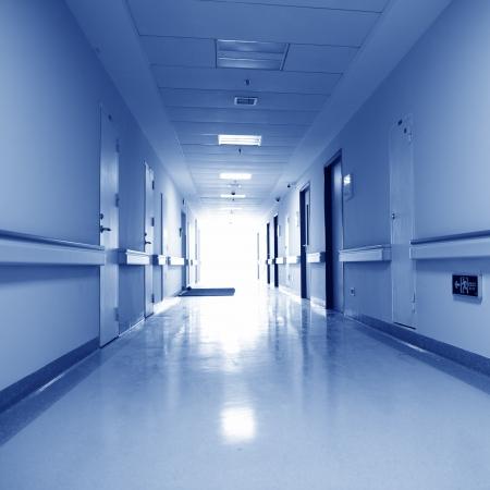 corridoi: interno di ricerca ospedale laboratorio.