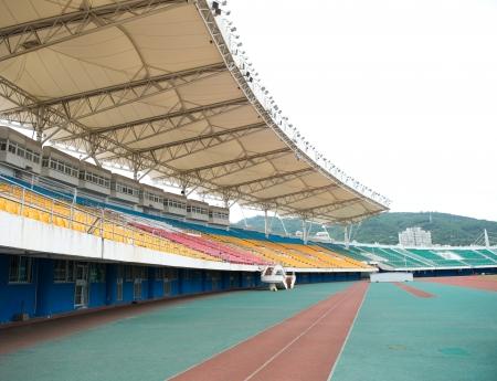 gradas estadio: parte del estadio deportivo de gran tamaño.