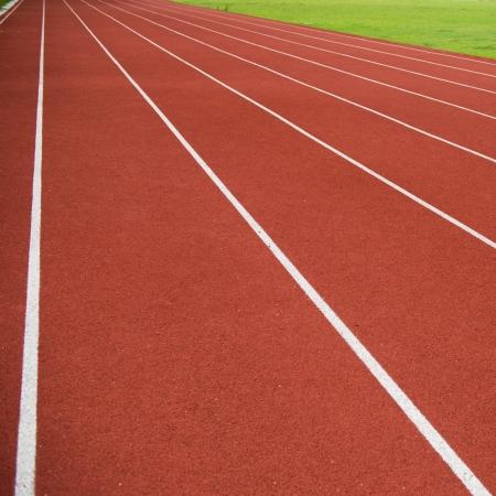 running track: Rubber standard of athletics stadium running track