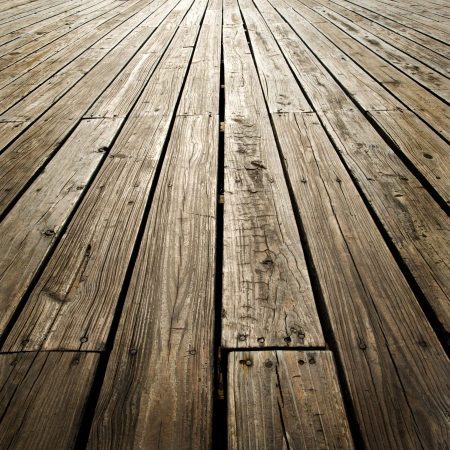 wooden texture: old, grunge wood panels used as background