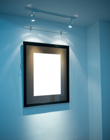 modern inter with frame on the wall. Stock Photo - 20027710