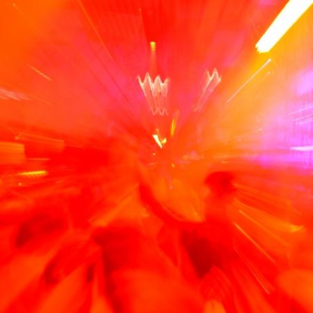 square dancing: dancing people radial blur effect in the nightclub.