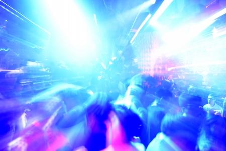 gente bailando: Gente del baile en una discoteca, discoteca.