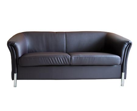 Modern leather sofa  photo