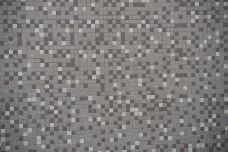 Gray mosaic wall floor texture. photo