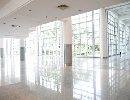 empty corridor in the modern office building. Stock Photo - 23060022