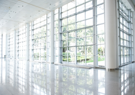 empty corridor in the modern office building. Stock Photo - 23060024