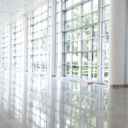 empty corridor in the modern office building. Stock Photo - 23060025