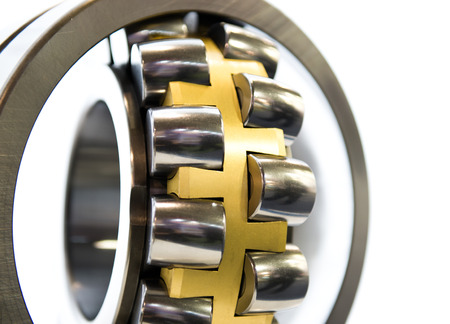 stainless steal: Close-up of a stainless steal bearing Stock Photo