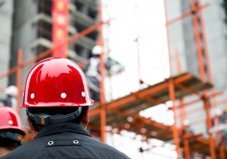 constructor: Vista posterior del constructor de inspector de control de las obras de construcci�n de un sitio.