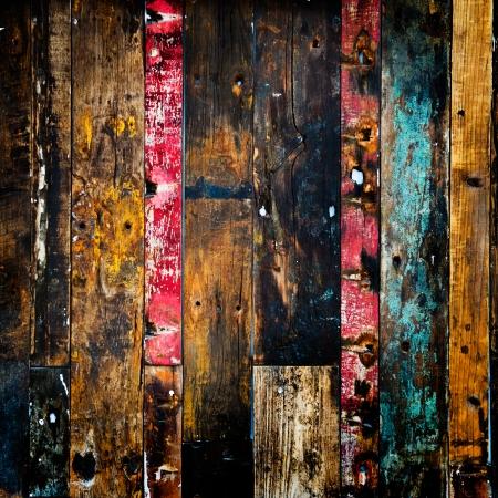 old, grunge wood panels used as background Stock Photo - 23723455