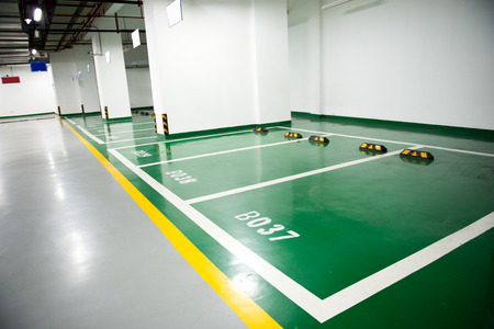 地下駐車場の駐車場 報道画像