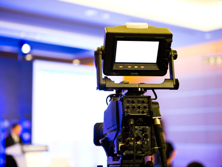 camera operator: Live broadcasting, television operator with camera.