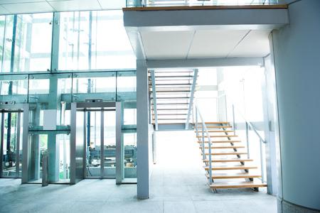 luxury stairs of modern  building.