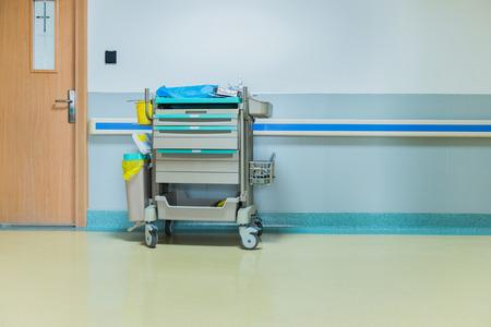 병원 복도입니다.