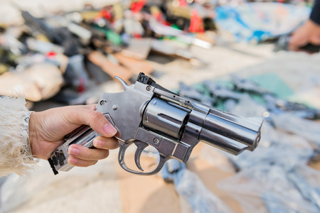 Group of guns. photo