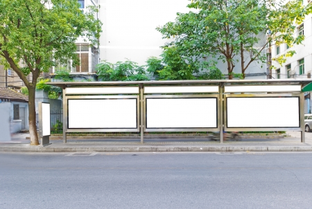 parada de autobus: Ma carretera carteleras, un material muy bueno
