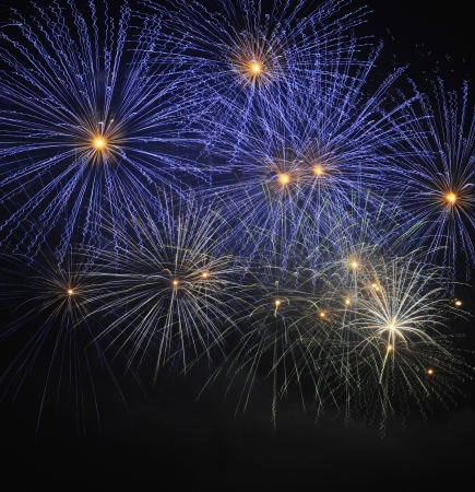 fireworks background: Colorful Fireworks  Stock Photo