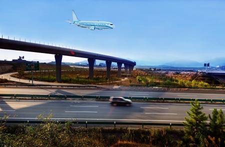 Two ways to travel photo