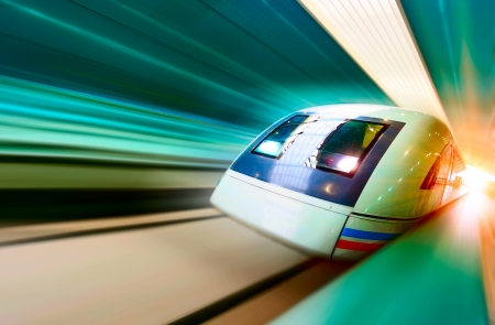 very high-speed train photo