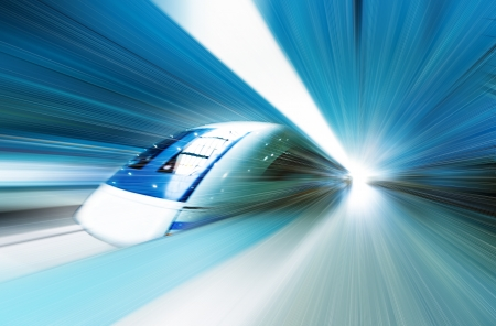 building activity: very high-speed train