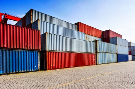 dockyard: Containers shipping