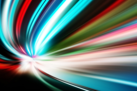 abstract night acceleration speed motion Stock Photo - 24102030