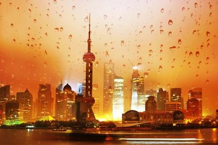 impressive: Beautiful Shanghai Pudong skyline