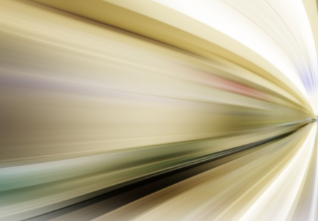 abstract night acceleration speed motion Stock Photo - 24102217
