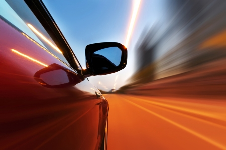 abstract acceleration motion Stock Photo - 24298632