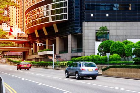 Modern city, Hong Kong, China.