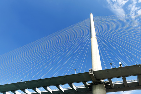 Stonecutters bridge in Hong Kong photo