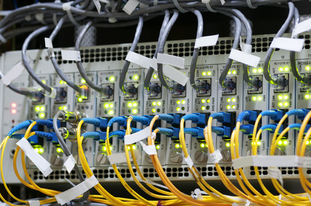 networking cables: Network cable Stock Photo
