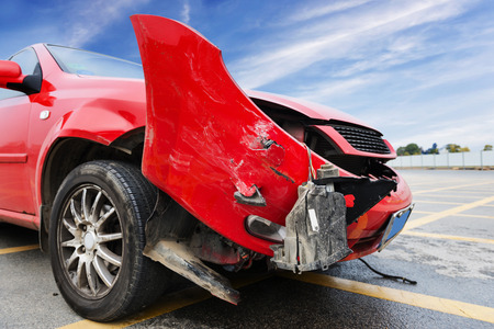 total loss: Details of a car an accident