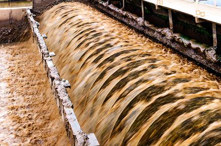 sewage treatment plant: Modern urban wastewater treatment plant.