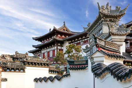 Alte chinesische Architektur Standard-Bild - 26574789