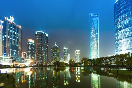 shanghai: shanghai lujiazui financial center Stock Photo