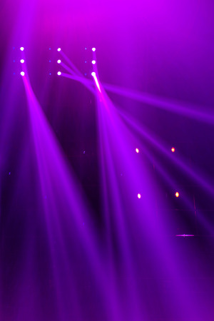 nightclub party: Vector Stage Spotlight with Laser rays