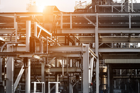 oil and gas industry: Industrial plant