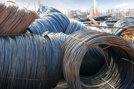 metallurgist: iron wires under the sky for construction