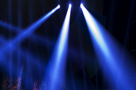 beam of light: Stage Spotlight with Laser rays