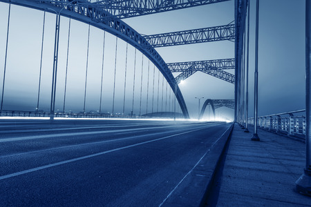 modern bridge photo