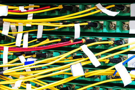 cat5: Network cable Stock Photo
