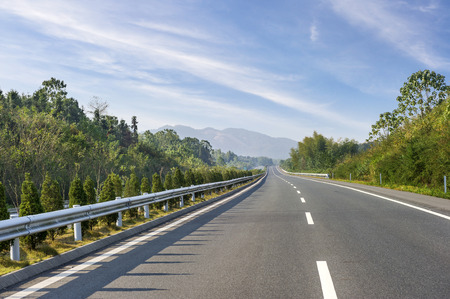 built: Newly built highway