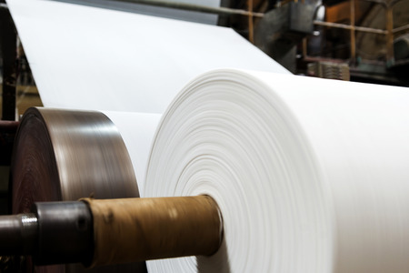 Fábrica de papel de máquina