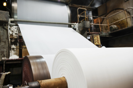 sheet of paper: Paper mill Machine