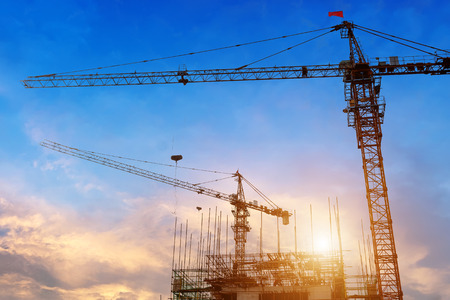 on site: construction site