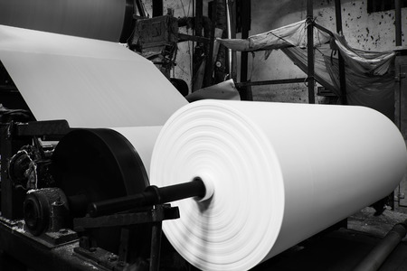 recycled water: Paper mill Machine