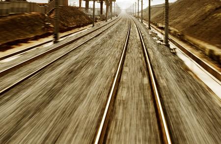 ballast: Railway track